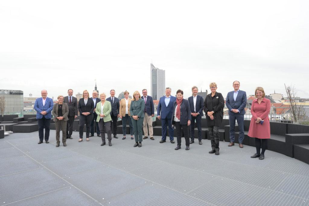 Mitglieder des Kuratoriums der Stiftung Forum Recht über den Dächern von Leipzig